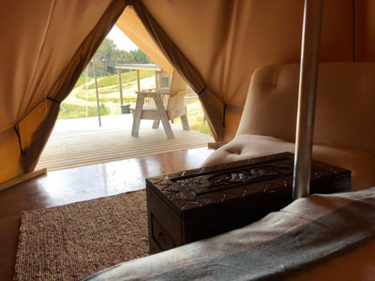 Photo of property: view from the tent