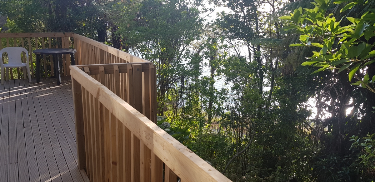 Photo of property: wood deck