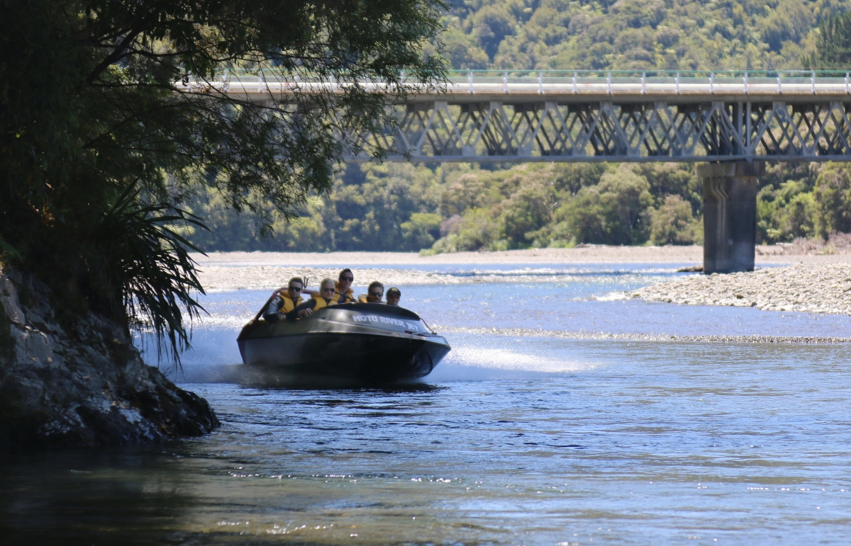 Photo of property: Things to Do: Motu River Jet Boat - 45 mins pre-book.