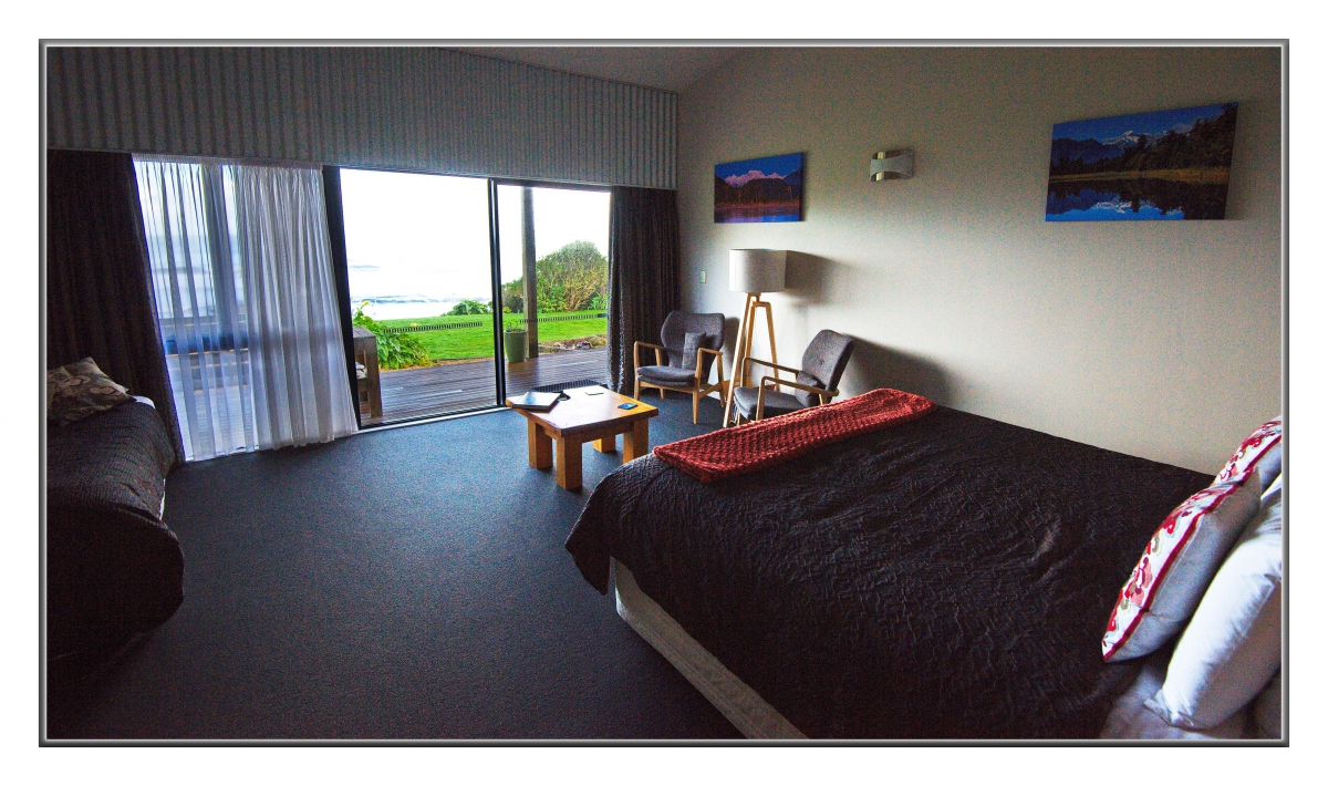 Photo of property: Driftwood suite and views to Tasman Sea