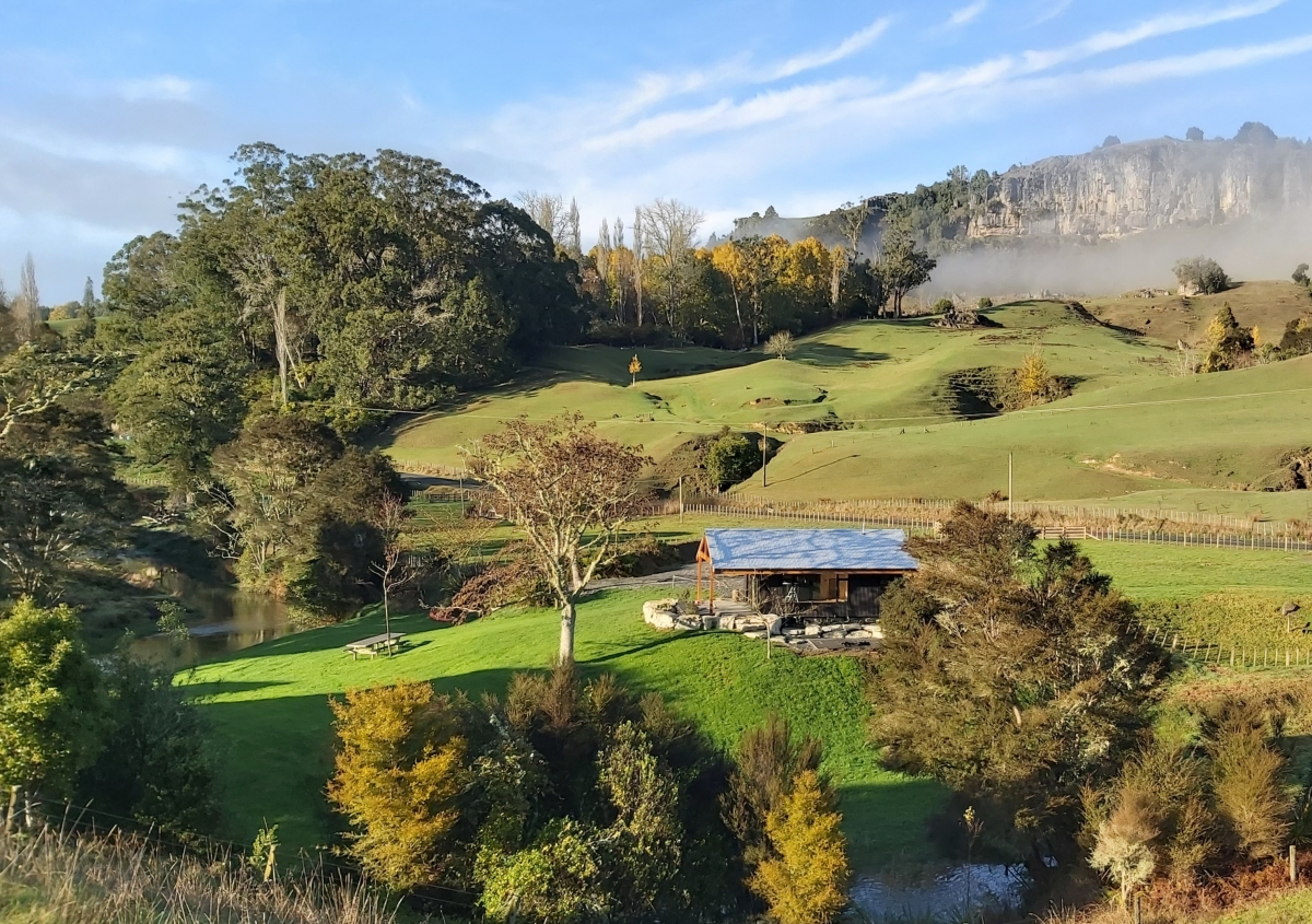 Photo of property: Nestled in a horseshoe of the Beautiful Mangaotaki Stream