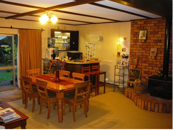 Photo of property: Shared Dining Lounge where breakfast is served