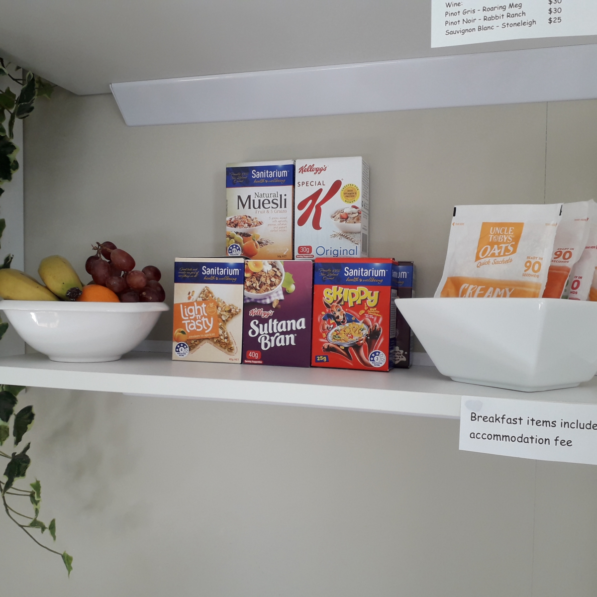 Photo of property: Breakfast items - also included with accommodation