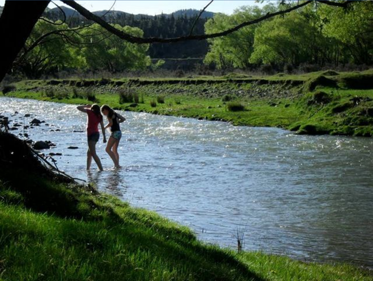 Photo of property: River fun at the farm