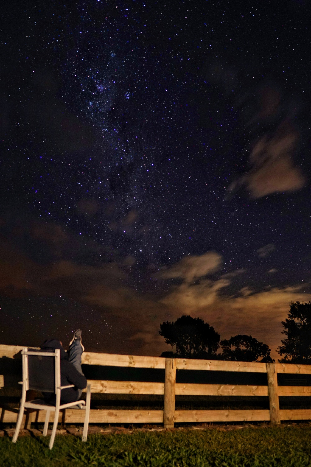 Photo of property: guests love sitting under the starry canopy at night- we showcase the most amazing skies here in new zealand.